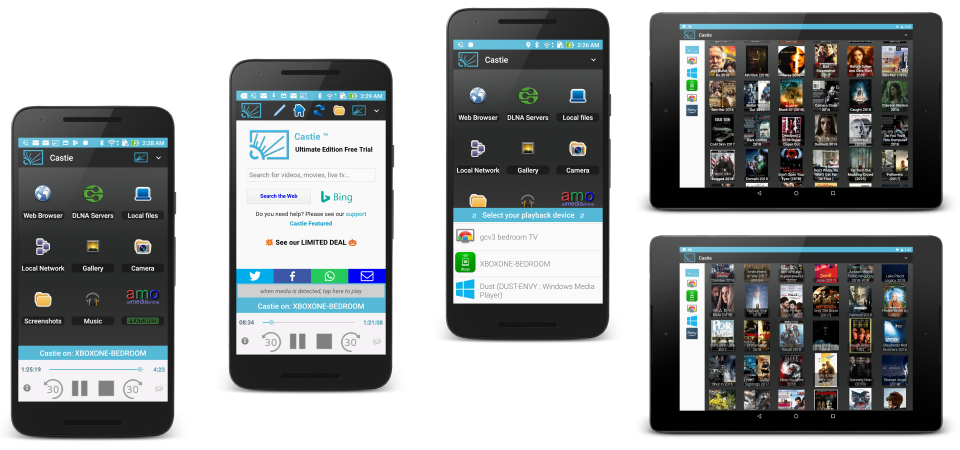 Castie UPNP for Android